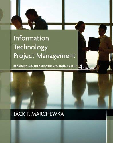 Information Technology Project Management [With CDROM]