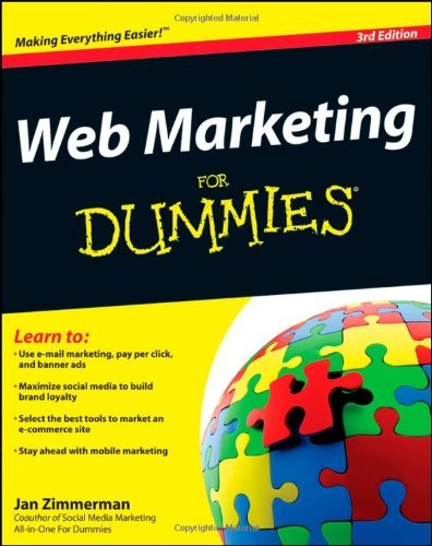 Web Marketing for Dummies 9781118065167