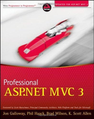 Professional ASP.NET MVC 3 9781118076583