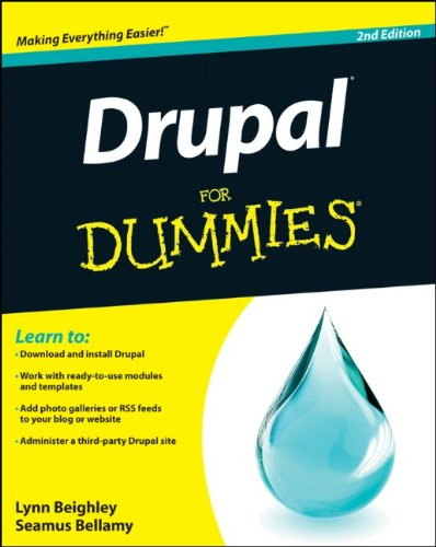 Drupal for Dummies 9781118083482