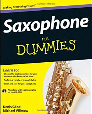 Saxophone for Dummies [With CDROM] 9781118084878