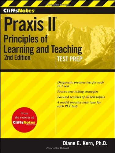 CliffsNotes Praxis II: Principles of Learning and Teaching 9781118090466