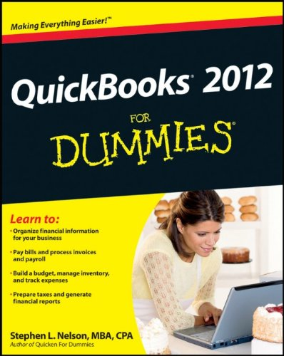 QuickBooks 2012 for Dummies 9781118091203