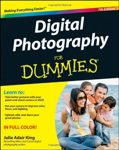Digital Photography for Dummies 9781118092033