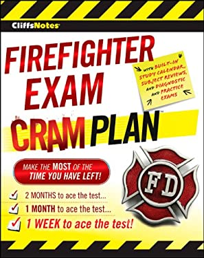 Cliffsnotes Firefighter Exam Cram Plan 9781118094488