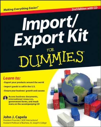 Import/Export Kit for Dummies [With CDROM] 9781118095157