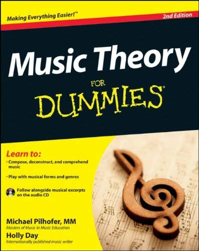 Music Theory for Dummies [With CD (Audio)] 9781118095508