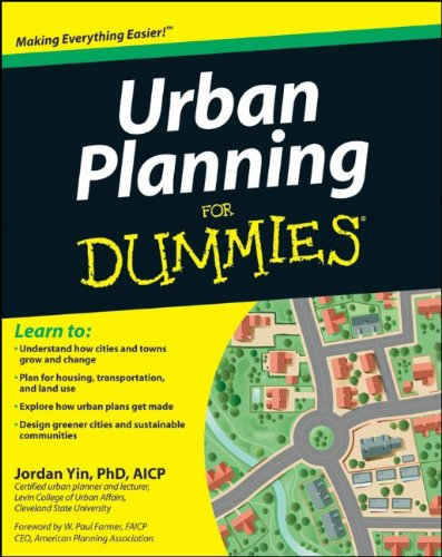 Urban Planning for Dummies 9781118100233