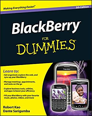 Blackberry for Dummies 9781118100356