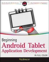 Beginning Android Tablet Application Development 13780733