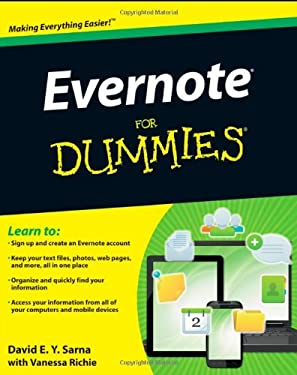 Evernote for Dummies 9781118107386