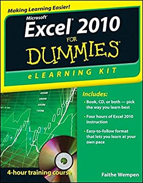 Excel 2010 Elearning Kit for Dummies 9781118110799