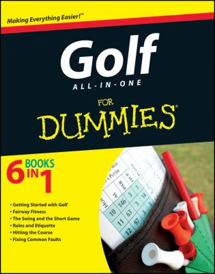 Golf All-In-One for Dummies 9781118115046