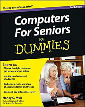 Computers for Seniors for Dummies 9781118115534
