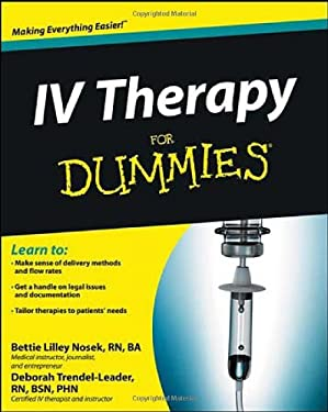 IV Therapy for Dummies 9781118116449