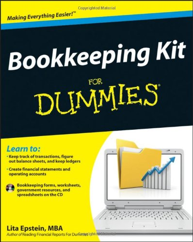 Bookkeeping Kit for Dummies [With CDROM] 9781118116456