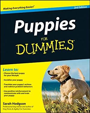 Puppies for Dummies 9781118117552