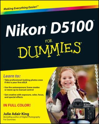 Nikon D5100 for Dummies 9781118118191