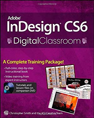 Adobe Indesign Cs6 Digital Classroom 9781118124062
