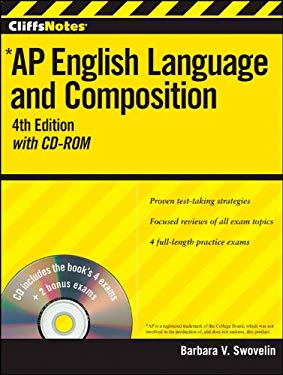 CliffsNotes AP English Language and Composition [With CDROM] 9781118128015