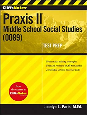 Cliffsnotes Praxis II: Middle School Social Studies (0089) 9781118131183