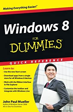 Windows 8 for Dummies Quick Reference 9781118132432