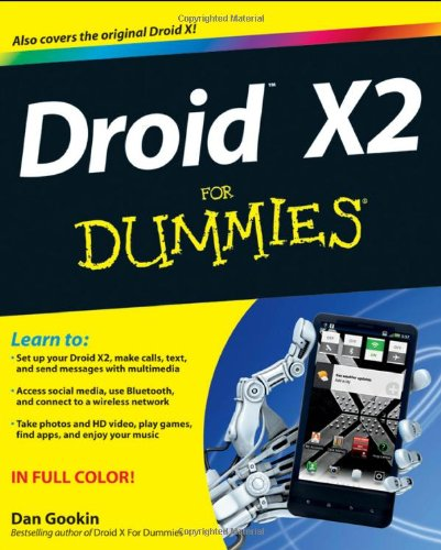 Droid X2 for Dummies 9781118148648