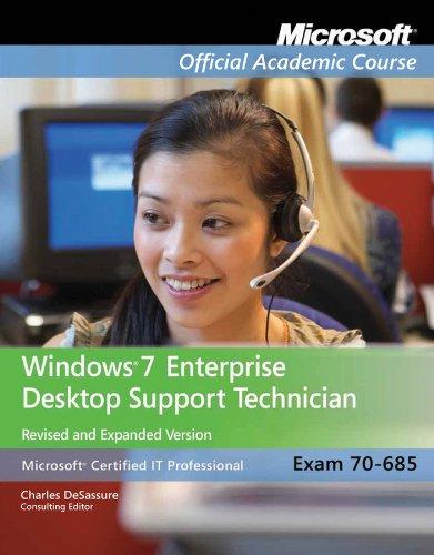Windows 7 Enterprise Desktop Support Technician [With Paperback Book] 9781118152560