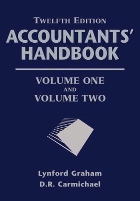 Accountants' Handbook, 2 Volume Set 9781118171806