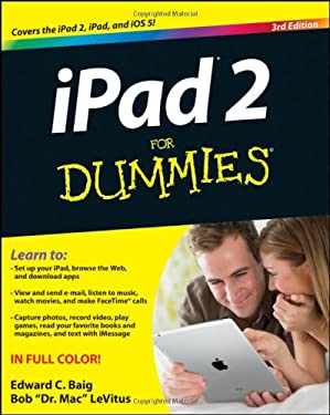 iPad 2 for Dummies 9781118176795