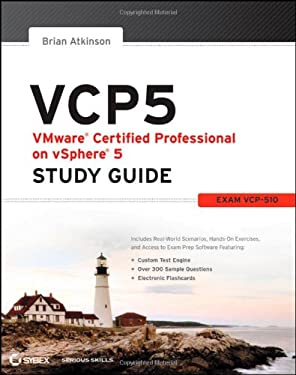 Vcp: Vmware Certified Professional on Vsphere 5 Study Guide (Exam Tbd) 9781118181126