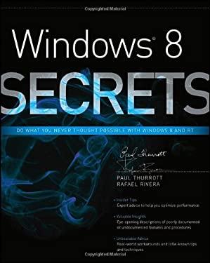 Windows 8 Secrets 9781118204139