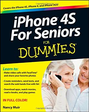 iPhone 4S for Seniors for Dummies 9781118209615