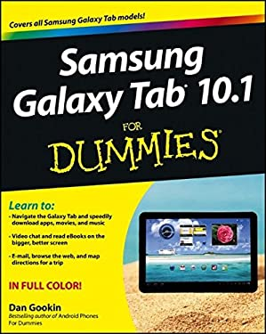 Samsung Galaxy Tab 10.1 for Dummies 9781118228333