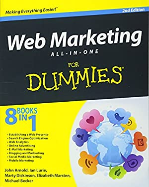 Web Marketing All-In-One for Dummies 9781118243770