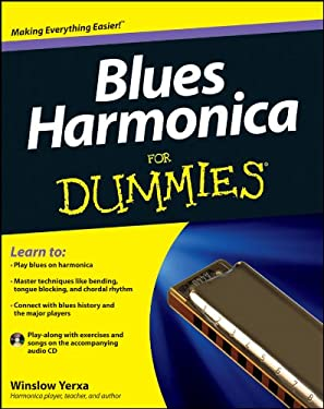Blues Harmonica for Dummies 9781118252697