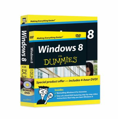 Windows 8 for Dummies Book + DVD Bundle 9781118271674