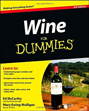 Wine For Dummies 9781118288726