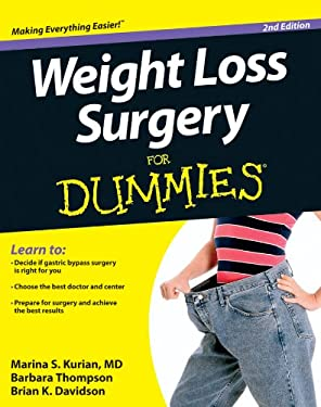 Weight Loss Surgery for Dummies 9781118293188