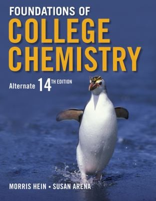 Foundations of College Chemistry - 14th Edition