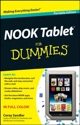 NOOK Tablet for Dummies 9781118306130