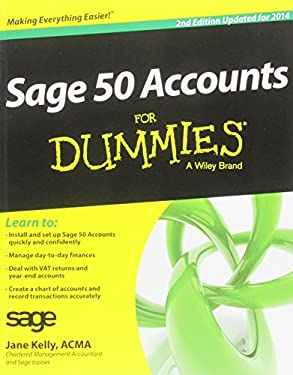 Sage 50 Accounts for Dummies 9781118308585