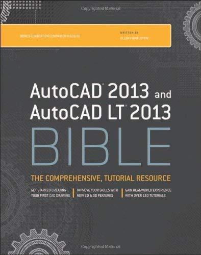 AutoCAD 2013 & AutoCAD LT 2013 Bible 9781118328293