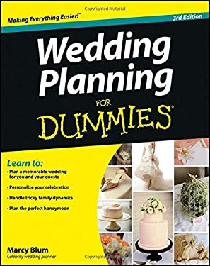 Wedding Planning for Dummies 9781118360354