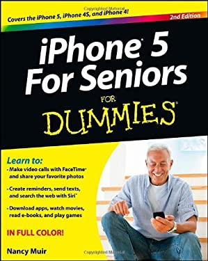 Iphone for Seniors for Dummies 9781118375426
