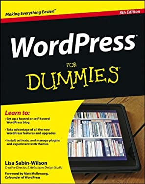 Wordpress for Dummies 9781118383186