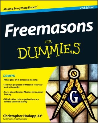 Freemasons for Dummies 9781118412084