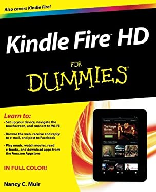 Kindle Fire HD For Dummies 9781118422236