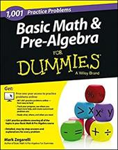 Image of 1001 Basic Math & Pre-Algebra Practice Problems For Dummies