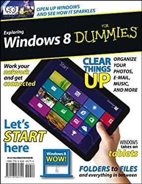 Exploring Windows 8 for Dummies 9781118484791